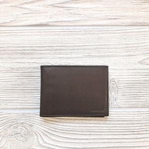 Coach Men's Brown Wallet